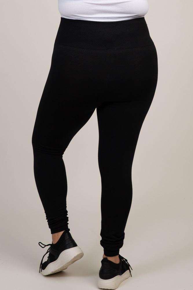 ad9ec7fb5cb58 Black Plus Maternity Leggings