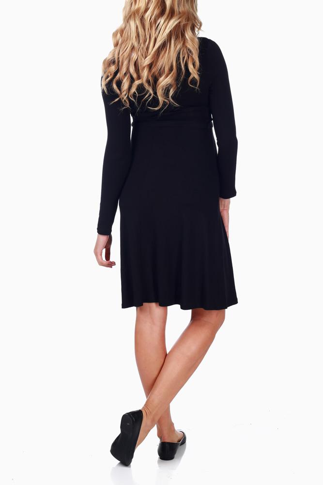 1f597d1c9dc48 Black Tie Maternity/Nursing Dress